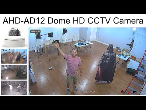 AHD-AD12 HD CCTV Camera Video Surveillance Demo