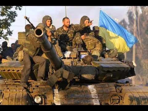 Маруся раз два три Ukrainian military song Marusya one two three