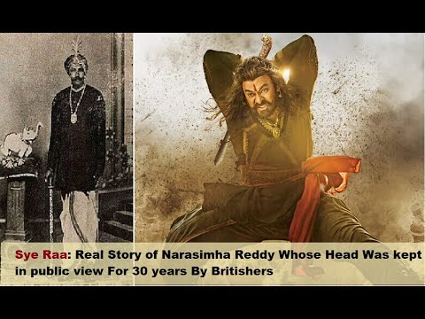 Movie Sye Raa: Real Story of Narasimha Reddy Whose Head Was Kept in Public For 30 Years By British