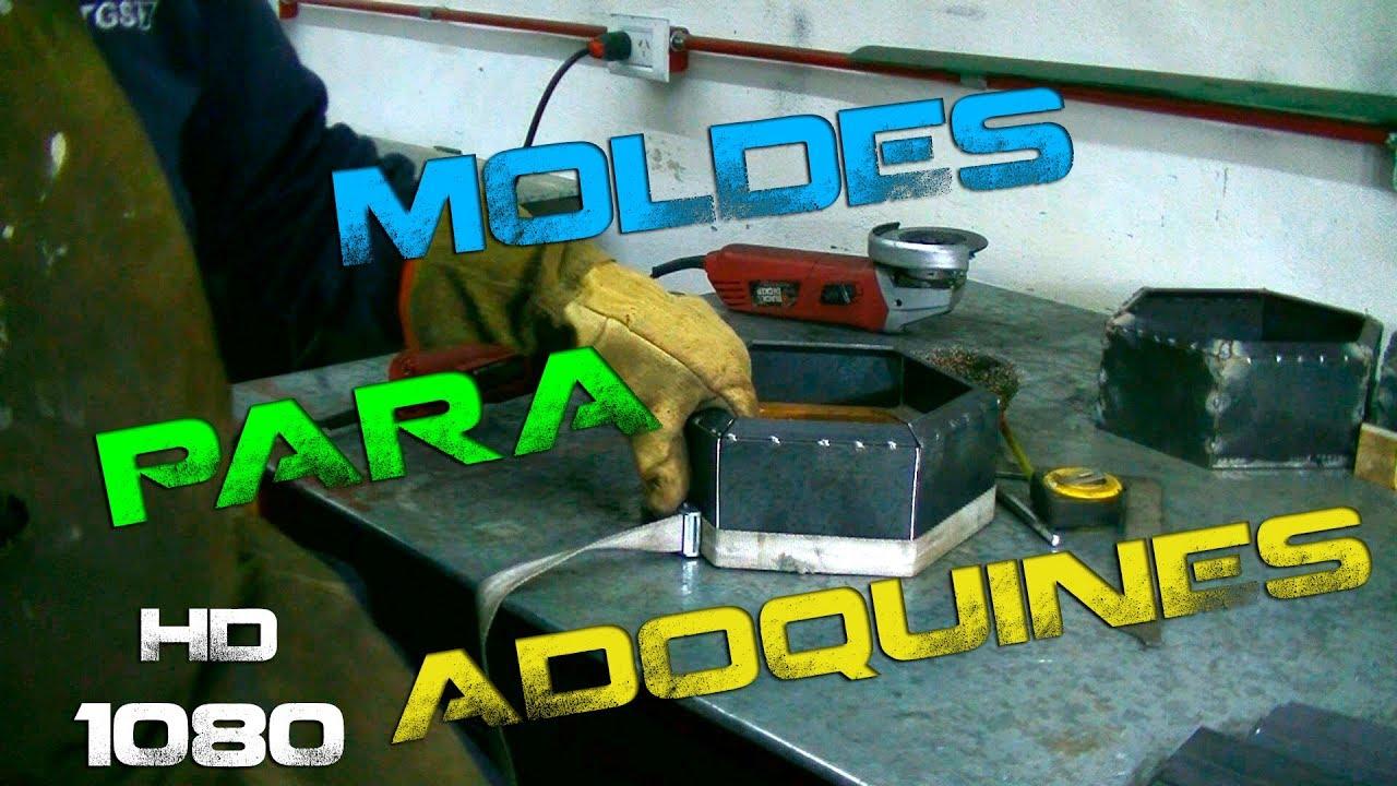 Moldes para adoquines mould for hexagon stones youtube for Moldes para adoquines