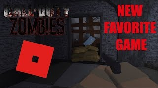 Call Of Duty Zombies ON ROBLOX!?! (new favorite game)
