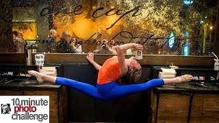 10 Minute Photo Challenge STORMS STARBUCKS (Contortion)