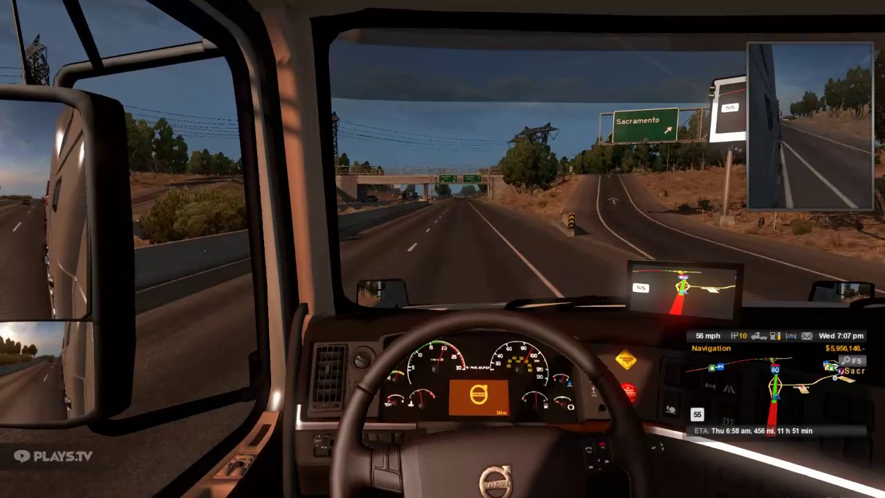 american truck simulator going to oregon youtube. Black Bedroom Furniture Sets. Home Design Ideas