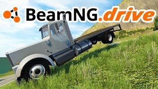BeamNG.drive Gameplay - Stairway Mountain! - Let's Play BeamNG.drive