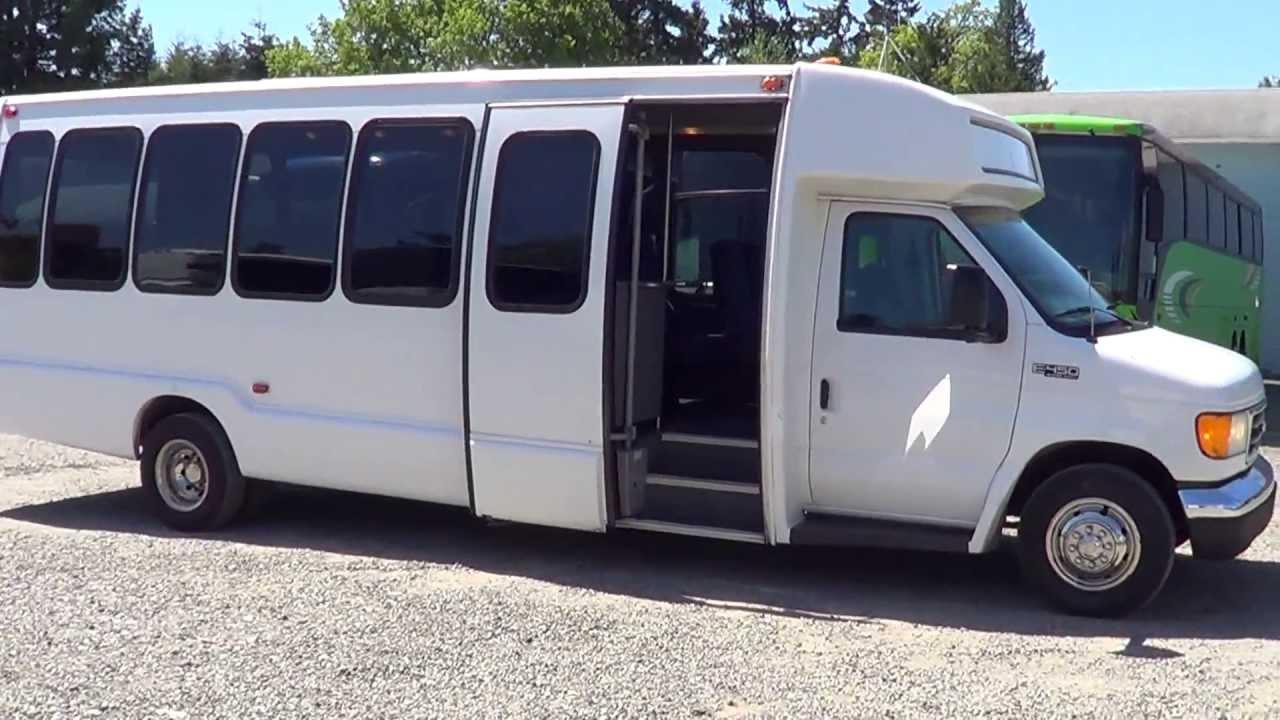 Ford Passenger Van >> Northwest Bus Sales - 2004 Ford Krystal 28 Passenger Shuttle Bus For Sale - S27826 - YouTube