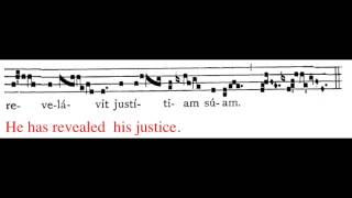 Mass for Christmas Day: Viderunt omnes (plainchant gradual)