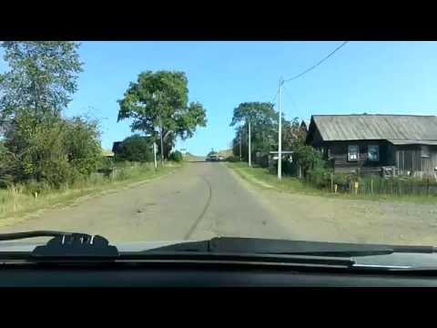Глазов - Омутнинск  1видео .21августа 2016 г.