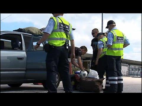 Violência entre gangues na Suécia