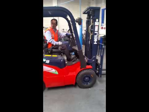 NEW HELI 1.8ton forklift with NISSAN K21 engine