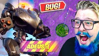 I WON THE STORM? THE ROBOT'S BIGGEST BUG! -FORTNITE