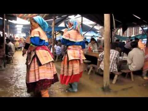 Bac Ha Market North Vietnam 2011