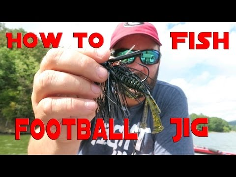 Bass Fishing - How to Fish a Football Jig