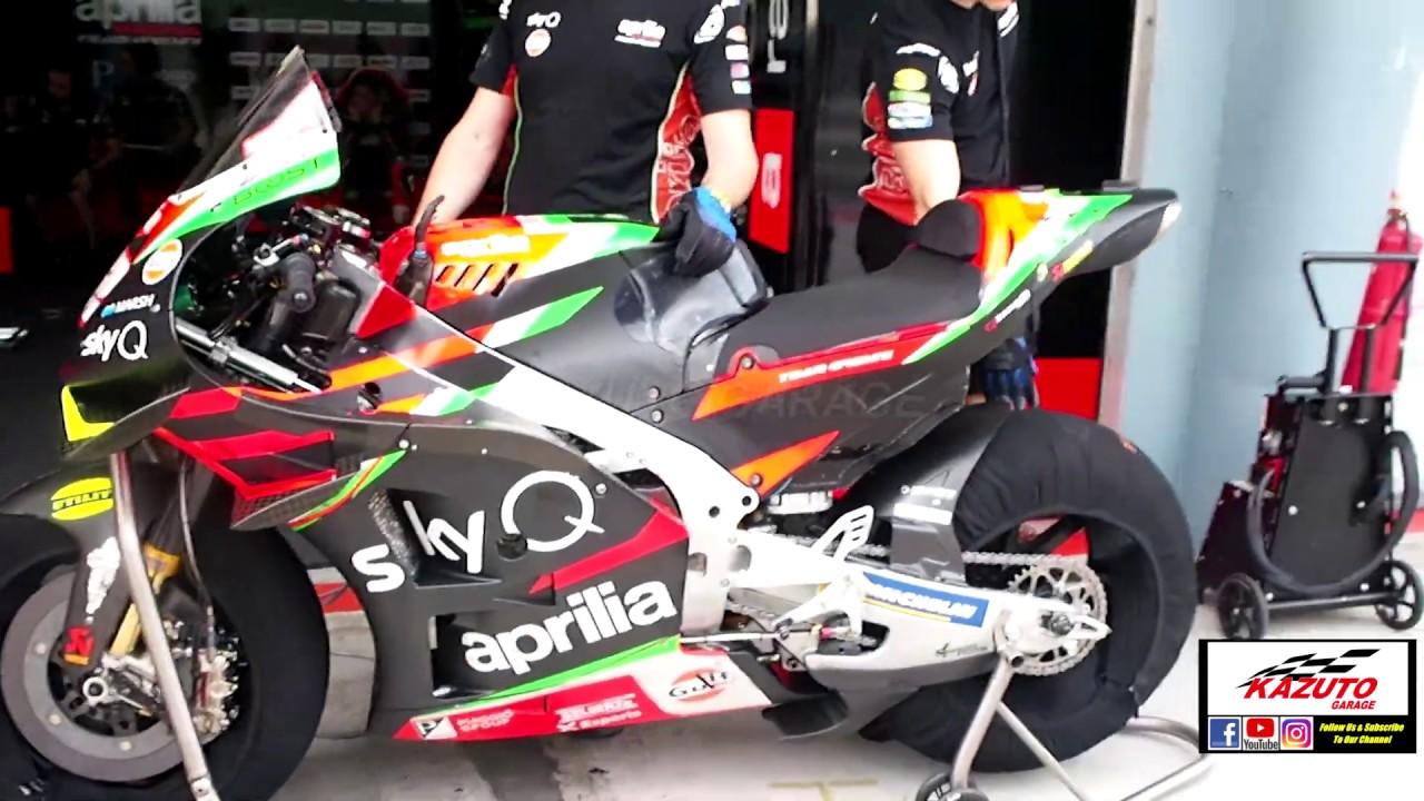 Aprilia Racing Team Gresini MotoGP 2020 - Andrea Iannone OUT Bradley Smith  IN - YouTube