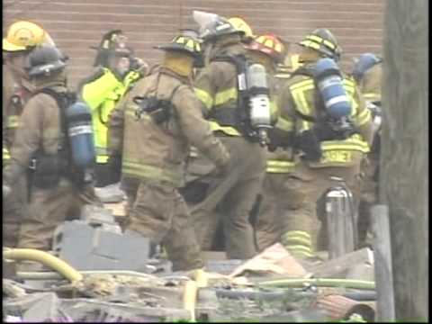 Wayne, Michigan Explosion Heros On WDIV by Jim Kiertzner