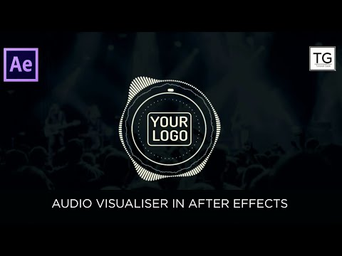 Audio Visualizer in After Effects Tutorial - No Third Party Plugin ( 2017)