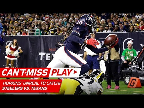 DeAndre Hopkins' TD Grab Might Be Catch of the Year! | Can't-Miss Play | NFL Wk 16 Highlights