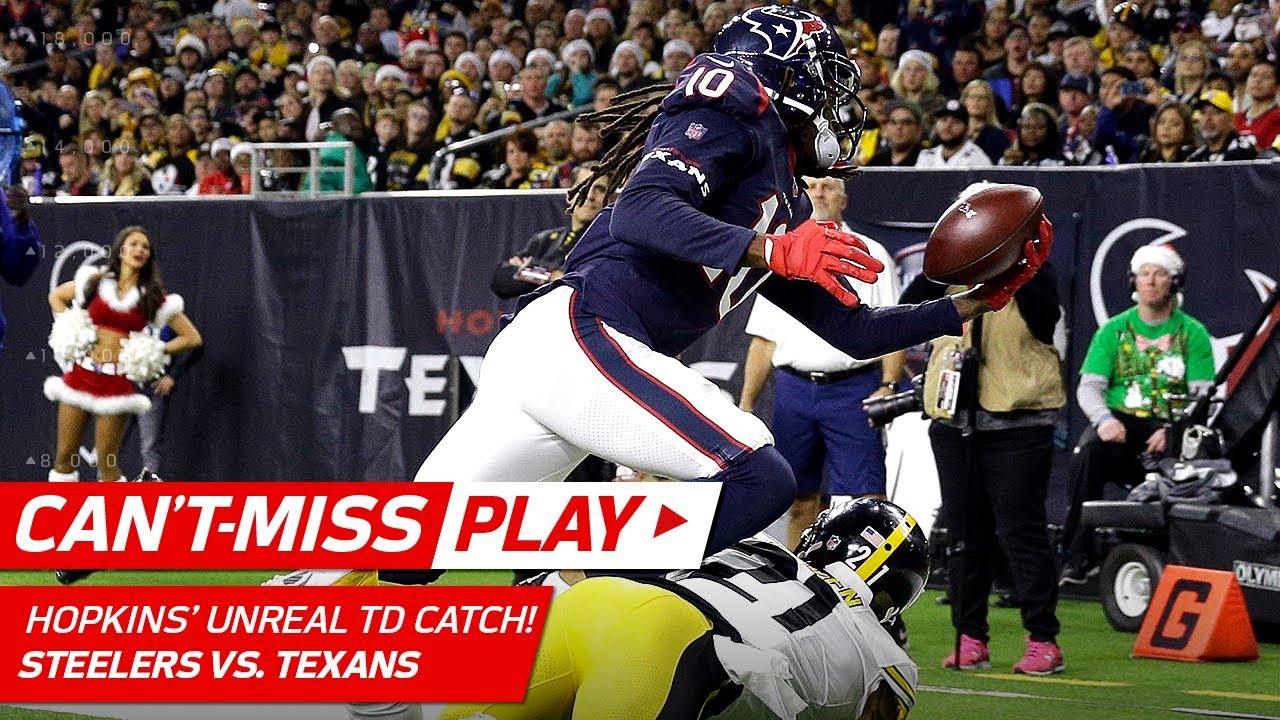 DeAndre Hopkins' TD Grab Might Be Catch of the Year!   Can ...