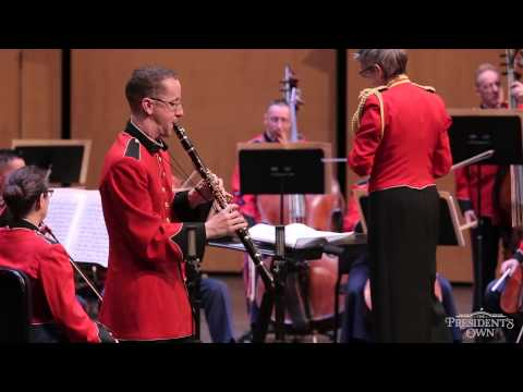 "NIELSEN Clarinet Concerto - ""The President's Own"" Chamber Orchestra"
