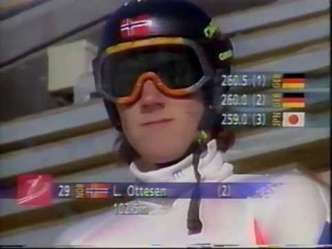 1994 Lillehammer olympic ski jumping normal hill