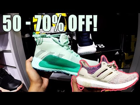 ADIDAS OUTLET STORE RIVERBANKS MARIKINA SALE   50 - 70% DISCOUNT!