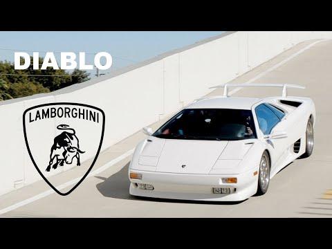 LAMBORGHINI DIABLO THE SUPERCAR OF THE 90'S