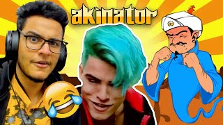 I Defeated Akinator with TikTok Joker