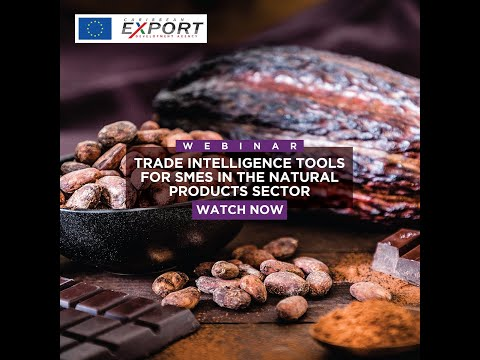 Trade Intelligence Tools for SMEs in the Natural Products Sector