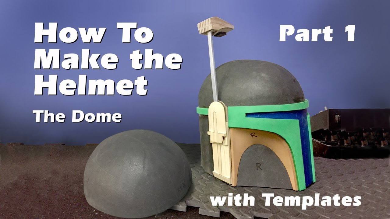 How to make a boba fett helmet step by step guide part 1 youtube how to make a boba fett helmet step by step guide part 1 pronofoot35fo Images