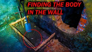 WARNING Finding The Body In The Wall Inside Poltergeist House ( Real Paranormal Activity )