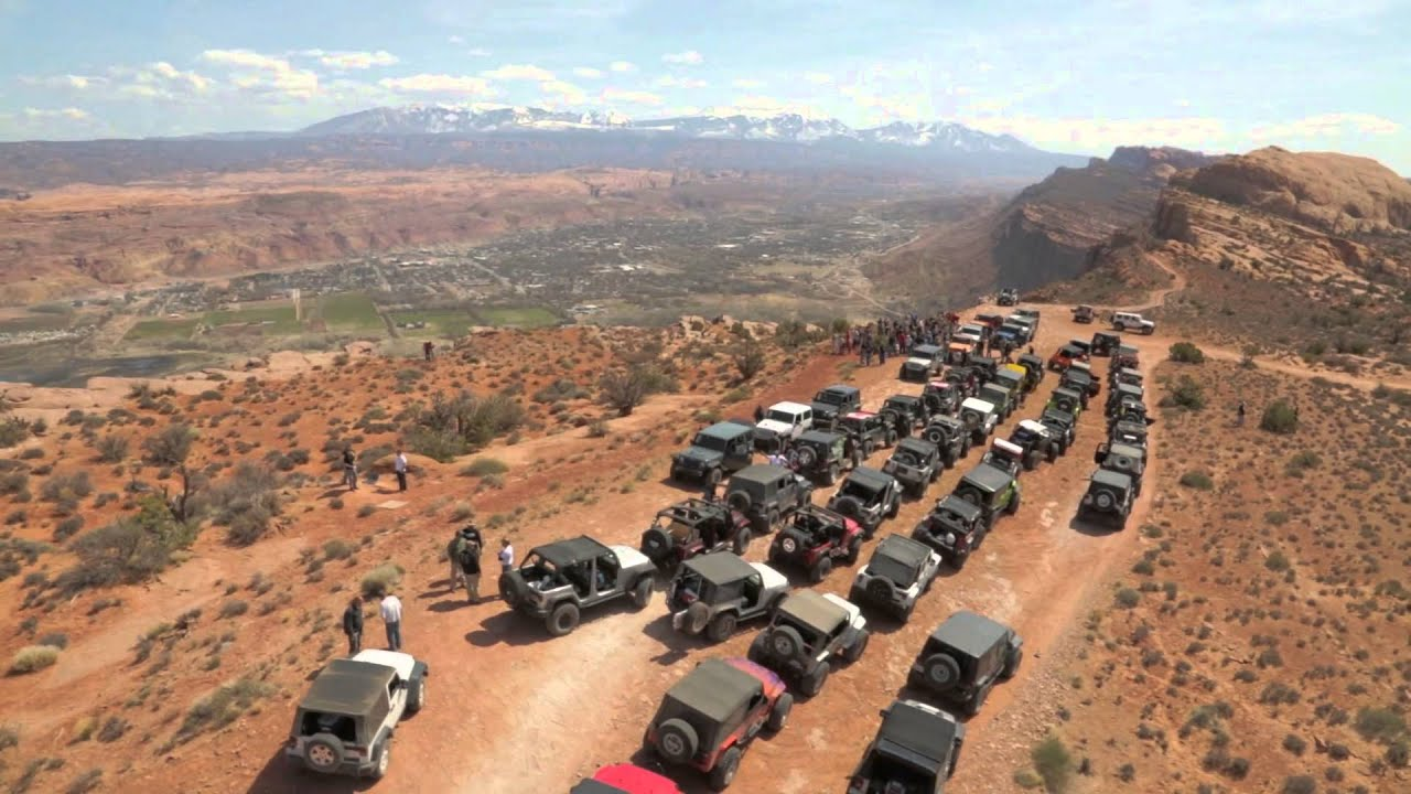 Easter Jeep Safari, Moab Utah | Aerial Imagery Works