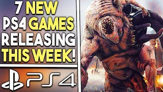7 New PS4 Games This Week! - Big Multiplayer Game, Final Spider-Man DLC and More!