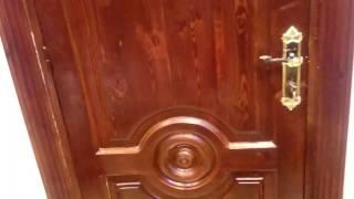 تنظيف وتلميع الابواب الخشب  بمكون واحد فقط  وبأقل تكلفه