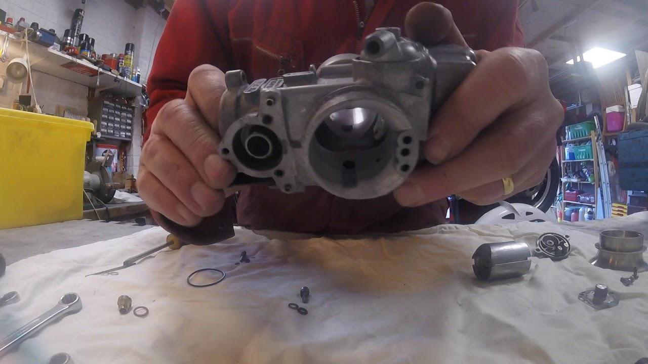 Dellorto carburettor rebuild