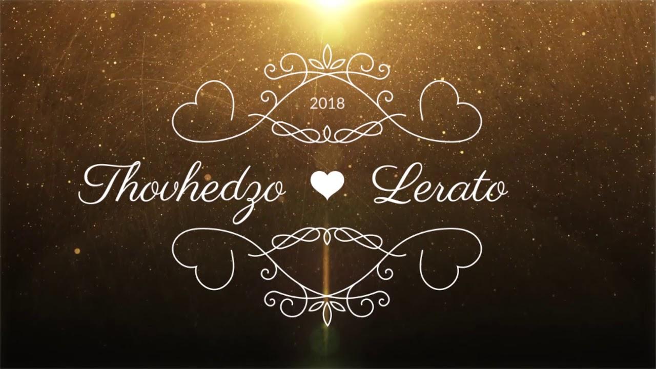 Thovhedzo Lerato Wedding Invitation Youtube
