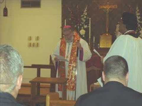 Orthodox Anglican Communion June 1st & 2nd 2007