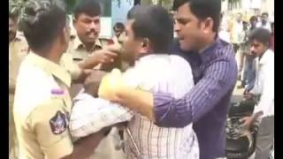 Anantapur Police over-action on public