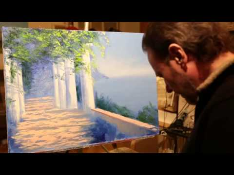 New video tutorials Igor Sakharov Oil Painting on Canvas