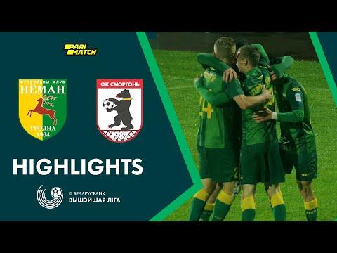Neman Smorgon Goals And Highlights