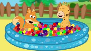 Fox Family and Friends new funny cartoon for Kids Full Episode #253
