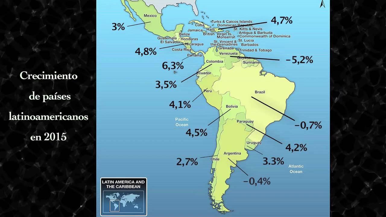 Economía en Latinoamérica en 2015 - YouTube