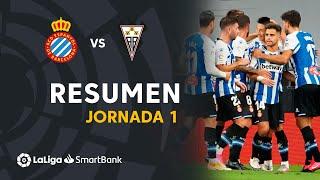 Resumen de RCD Espanyol vs Albacete BP (3-0)