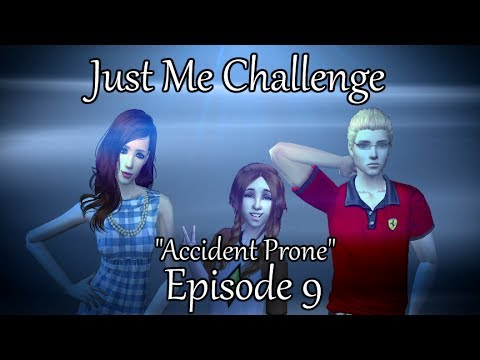 The Sims 2: Just Me Challenge - Accident Prone - (Part 9) w/Commentary