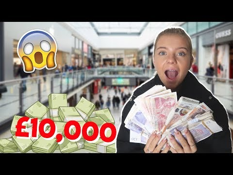 SISTER SPENDS £10000 IN 10 MINUTES