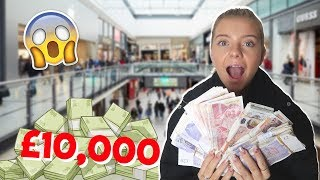 SISTER SPENDS £10,000 IN 10 MINUTES!