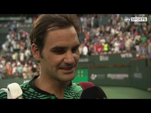 Rafael Nadal Wasn't 100% Fit Says Roger Federer - Indian Wells Masters 2017