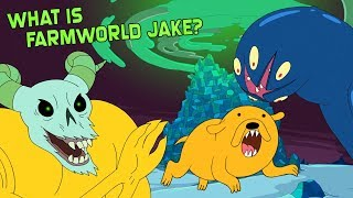 Is Farmworld Jake Half Shapeshifter? (Adventure Time)