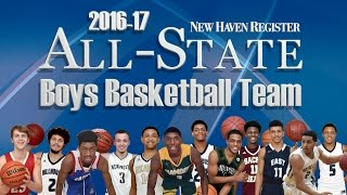 New Haven Register CT All State Boys Basketball 2017