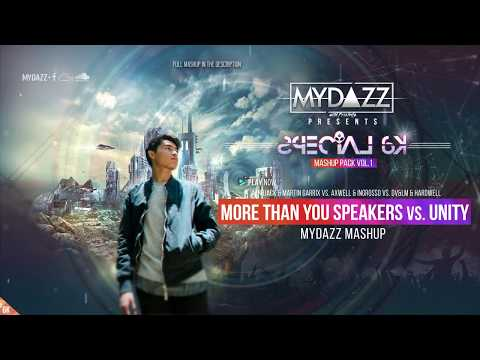 MYDAZZ with Friends Presents: Mashup Pack Vol.1 [Special 6k]