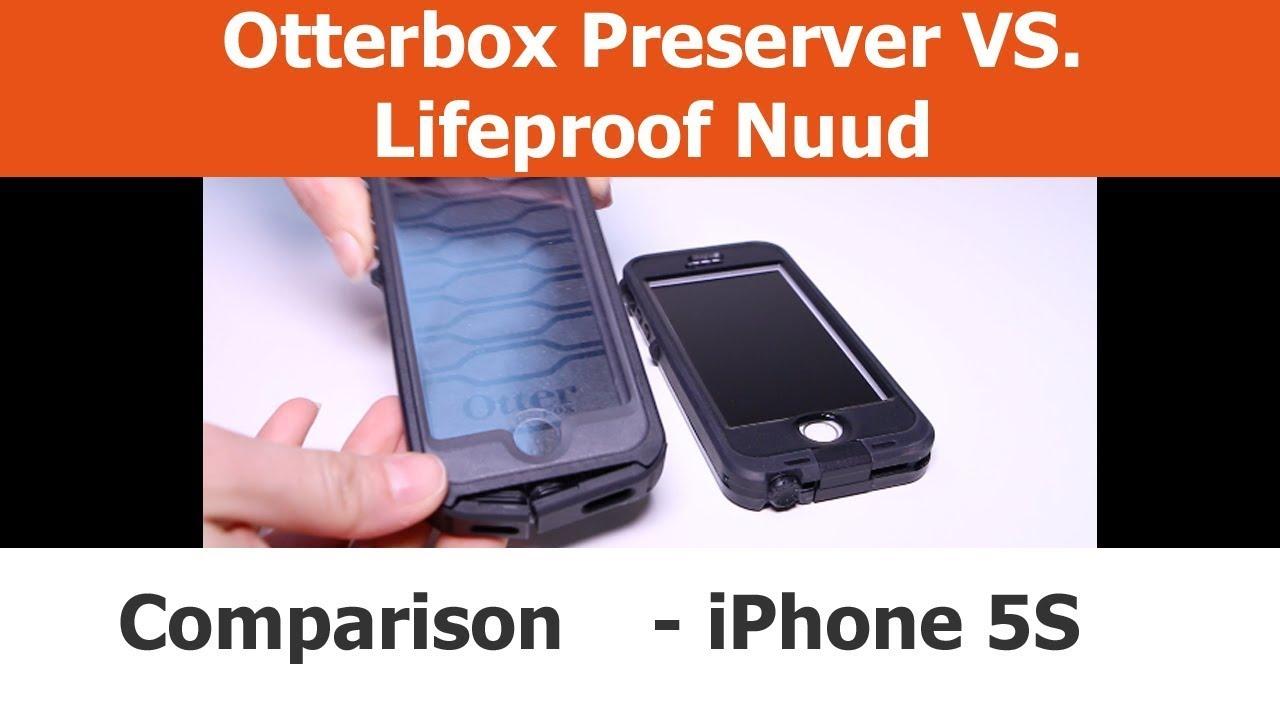 pretty nice 562fa 190fd iPhone Cases - Comparison - LifeProof Nuud VS. Otterbox Preserver