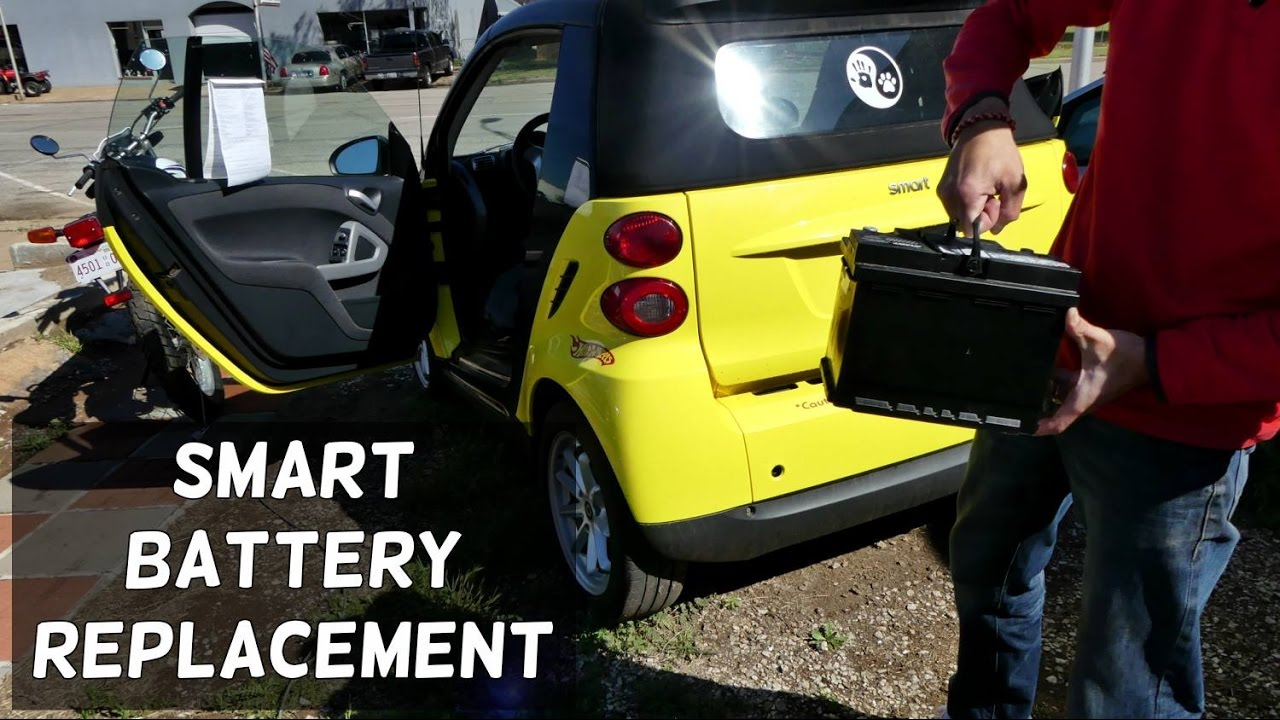 Smart For Two Battery Replacement Removal 2008 2014